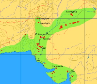 Harappan civilisation in Indus Valley, India & Pakistan