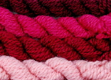 4 shades of cochineal extract - natural dyes